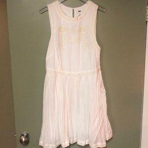 Never worn free people white dress